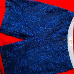 Penguin by Munsingwear shorts blue size 34